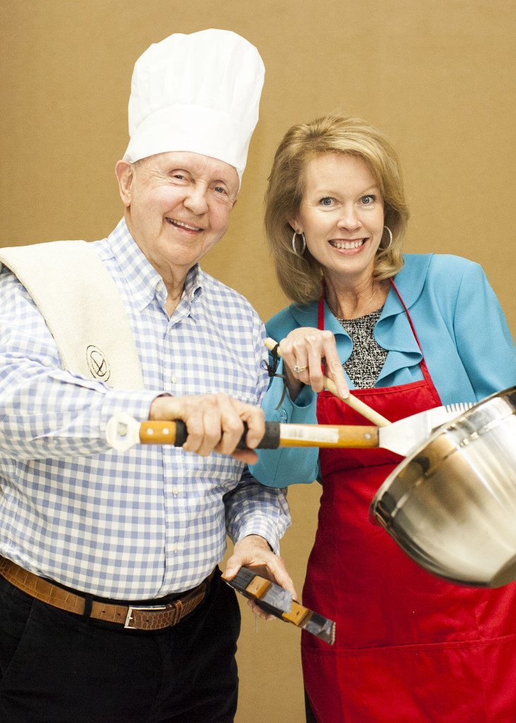 John Ed Mathison and Kim Hendrix team up for the Montgomery Cook-Off