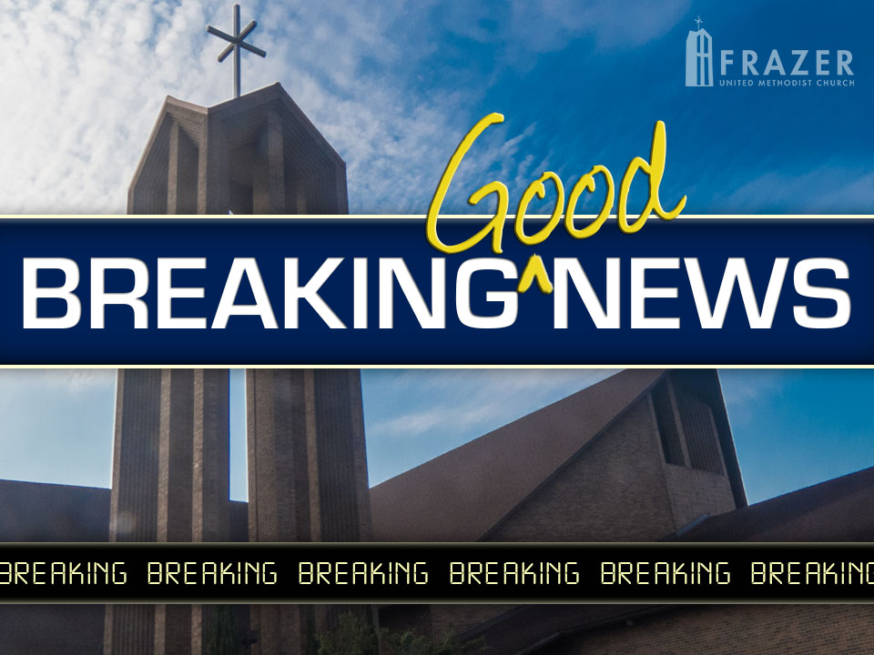 Breaking Good News - Photo by Lee Werling