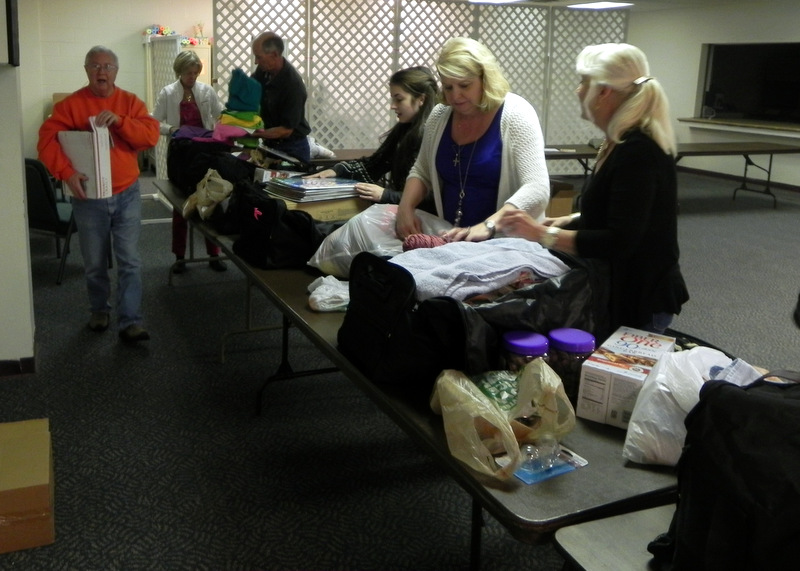 "Frazer's Cuba Mission Team 2014 holds a ""Packing Party"""